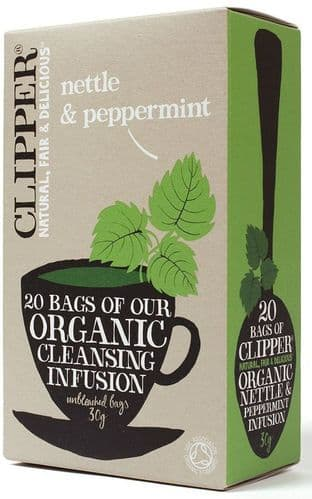 Clipper Organic Infusion Nettle & Peppermint